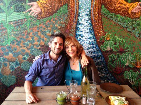 Kristin MacDonald with her nephew Chris