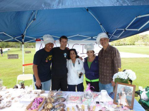 Frances Saldana and her family