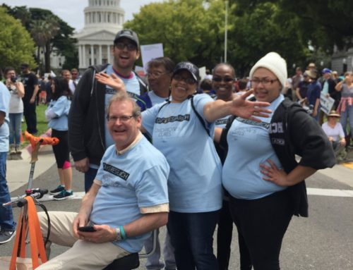 Marching for Science Across California