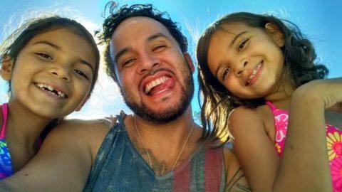 Antonio Quistian and kids