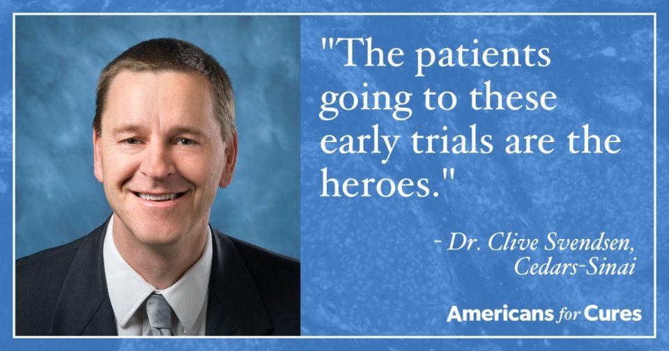 Dr. Clive Svendsen, photo courtesy of Cedars-Sinai