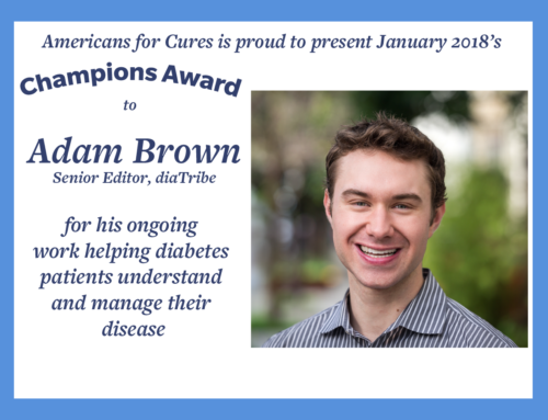 Champions Award Interview: Adam Brown from diaTribe