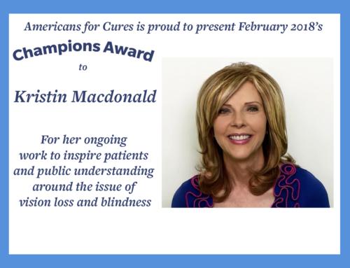 Champions Award February Recipient Kristin MacDonald